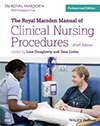 Cover of the printed Nurses Manual